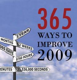 365 Ways to Improve 2009